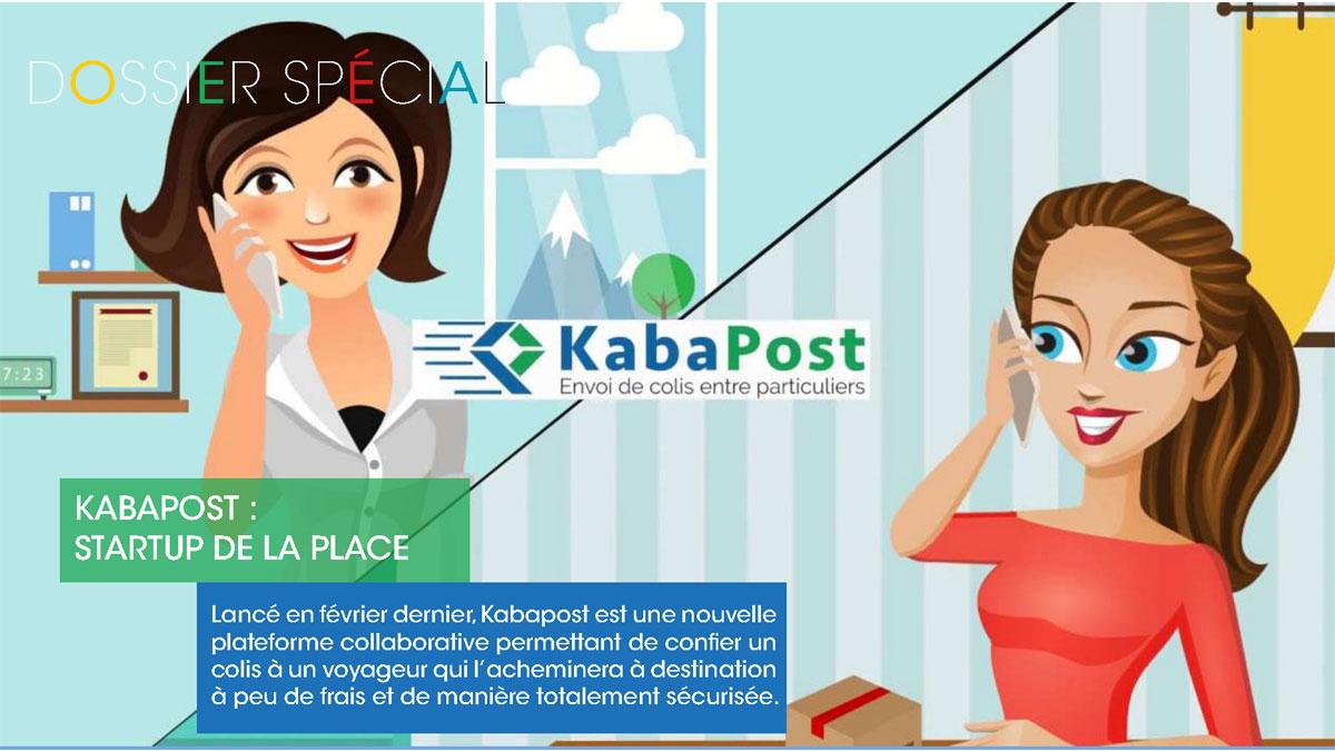Kabapost, startup : envoi de colis entre particuliers