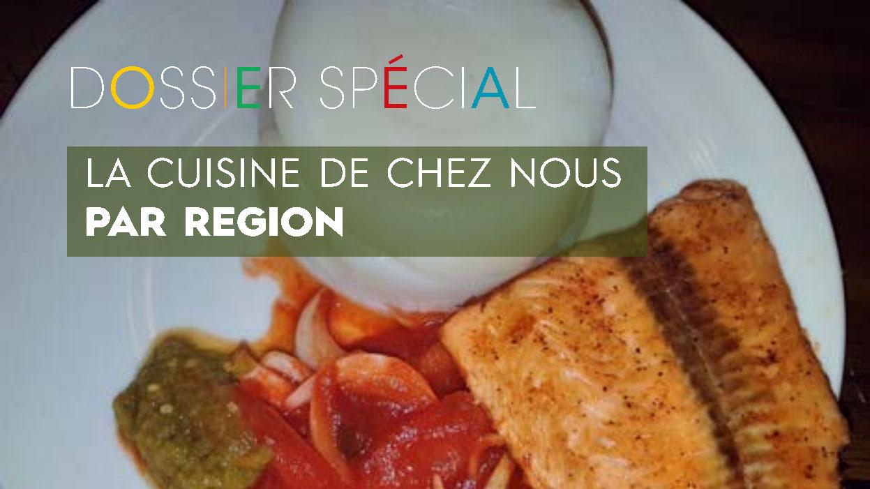 La cuisine de chez nous au Bénin : par région