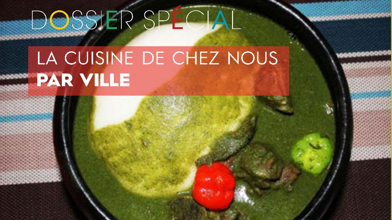 La cuisine au Bénin, par ville